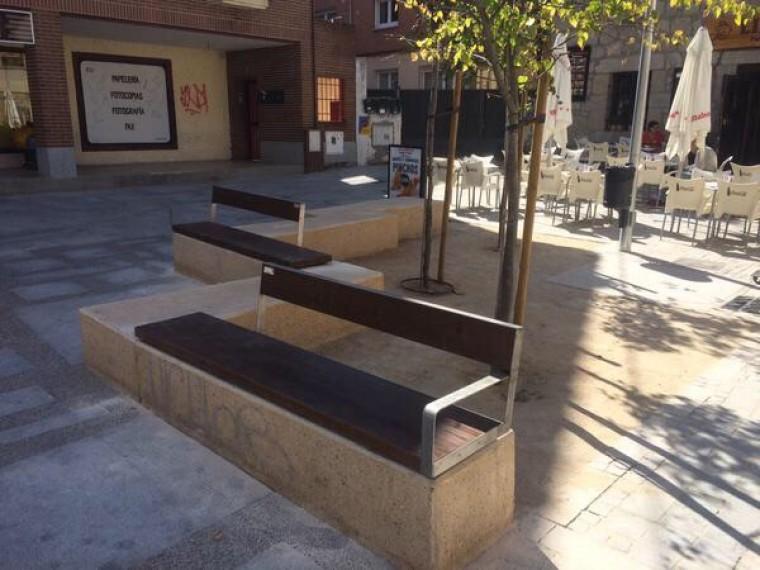 Art culos mobiliario urbano bancos o asiento bancos - Mobiliario urbano madrid ...